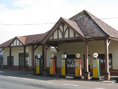 The old Petrol staion