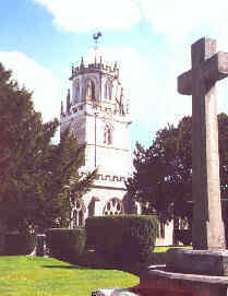 Church and war memorial